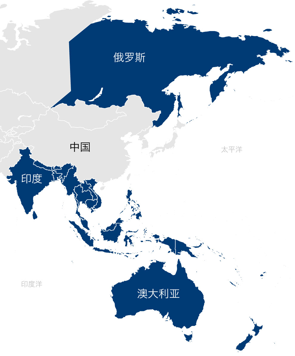 DALSORB South Asia Pacific, Japan, & East Russia